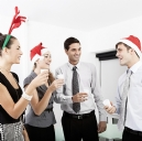 I'M AT THE CHRISTMAS OFFICE PARTY - GET ME OUT OF HERE! SURVIVAL TIPS